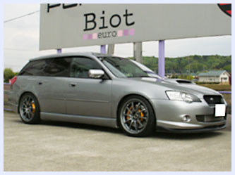 subaru ���� bp5 biot official web site